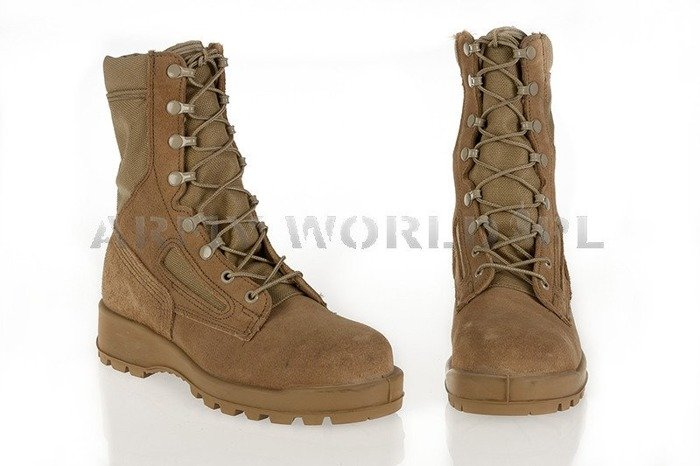 Military Shoes US Army Desert Bates / Wellco Gore-tex Original New