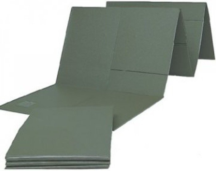 Military Sleeping Mat Bundeswehr Foldable Original Demobil II Quality