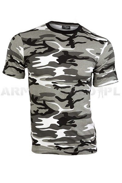 Military T-shirt Metro Short Sleeves  Mil-tec New