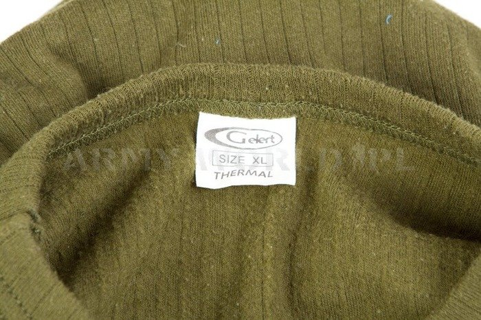 Military Undershirt Gelert Thermal Olive Original Used