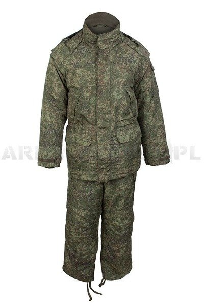 Military Winter Windproof Set Jacket + Pants Russian Army New