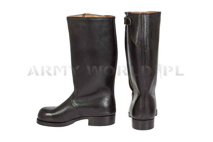 Military jackboots Warmed with Fur Original With Zipper #4