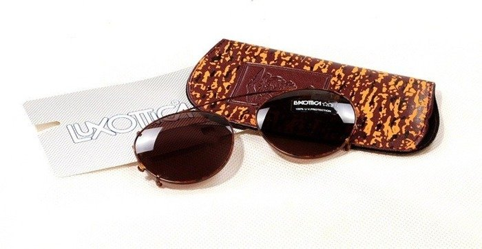 Dutch Army Clip-on Sunglasses Luxottica New