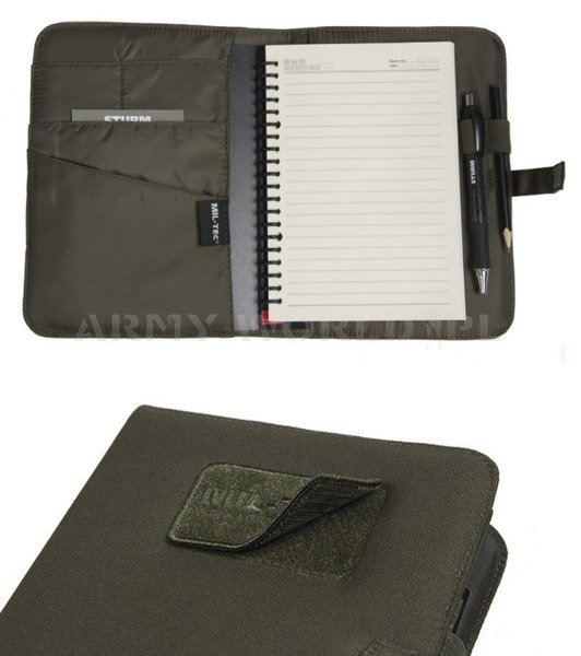 Tactical Notebook MEDIUM Mil-tec Black New