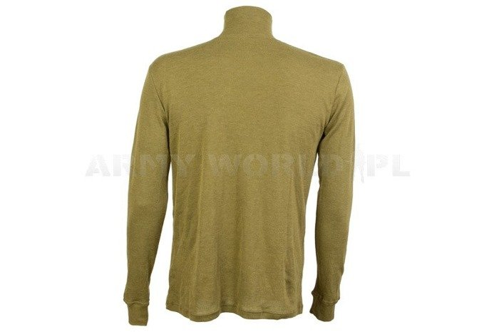 Pilot's Undershirt / Turtleneck Light Air Crew Olive Original Used