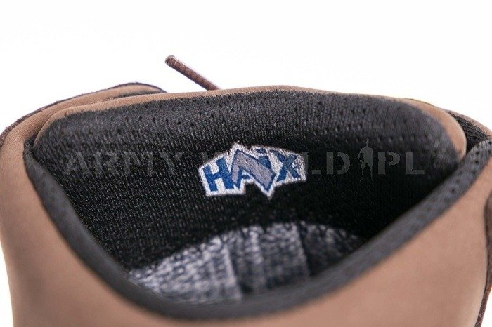 Police Shoes Haix Dakota Mid Gore-tex Brown New II Quality