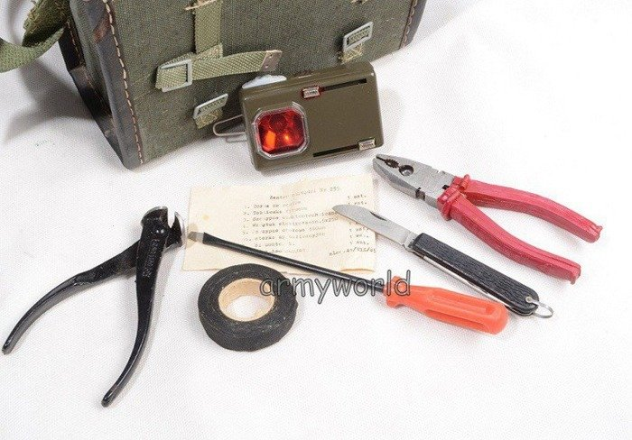 Polish Military Toolkit with cover Original - Demobil - SecondHand