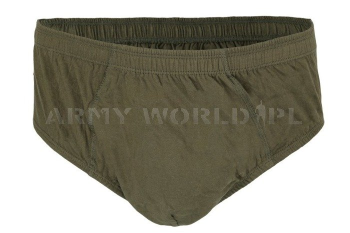 Polish Military Underpants Slips Oliv Original New
