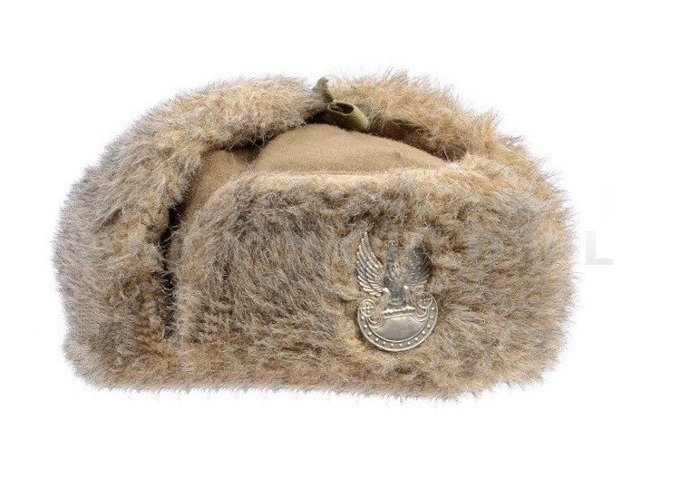 Polish Military Winter Cap Ushanka Cap  With Fur Original New