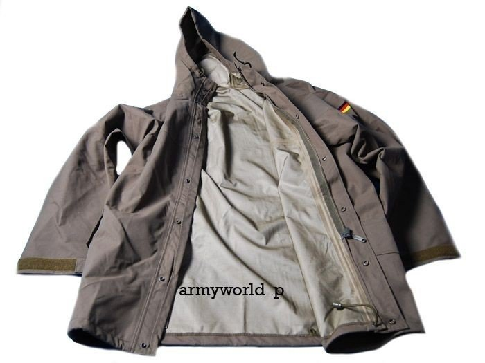 Rainproof Set Gore-tex Military Bundeswehr Oliv Original New