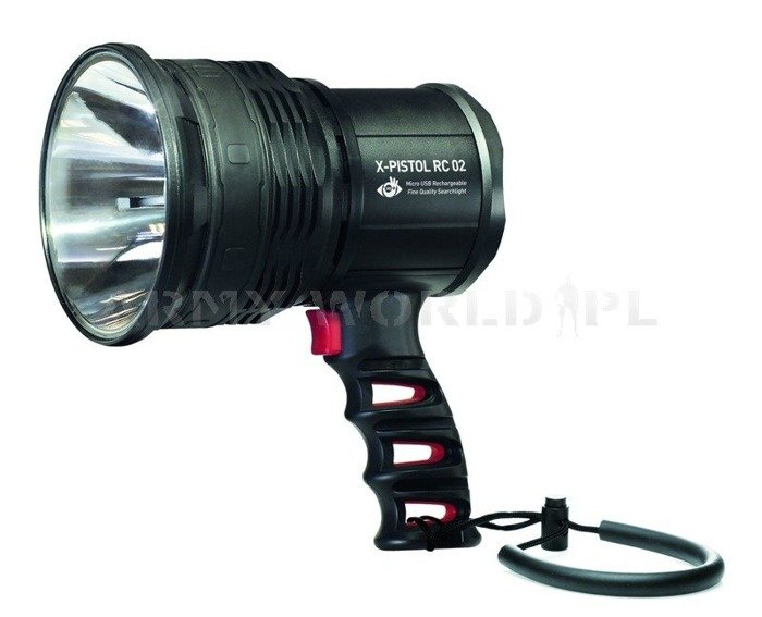 Rechargeable Searchlight X-Pistol RC 02 Mactronic 600 lm