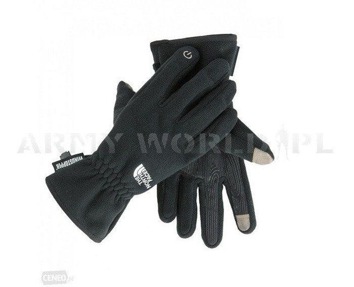 The North Face Gloves Windstopper Black Used