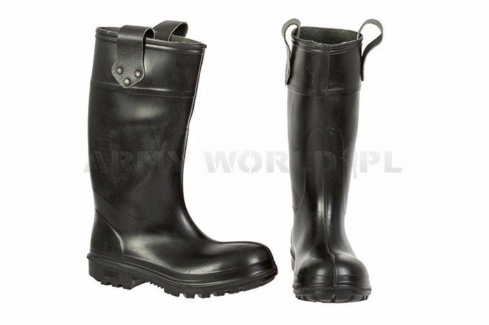 Rubber Firefighter Boots Bekina L400 New