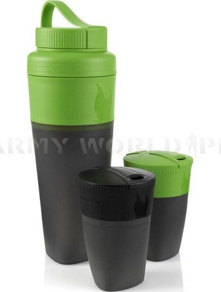 Set Pack-Up Drink Kit Light My Fire Green/Black New