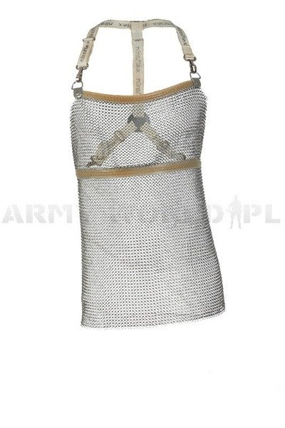 Short Metal Protective Apron Sleeveless Niroflex 2000 Stainless Steel Demobil Model I