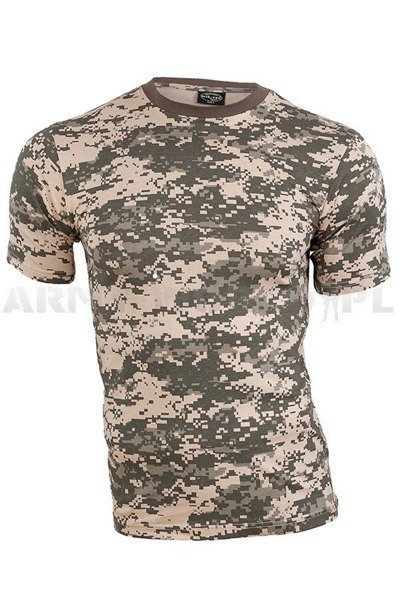 T-shirt Military ACU UCP Short sleeves Mil-tec New