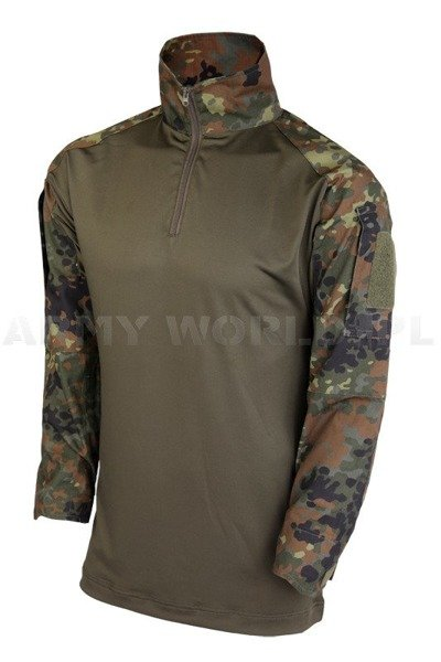 Tactical Shirt To Wear With Tactical Vest  Flecktarn Ripstop Mil-tec New