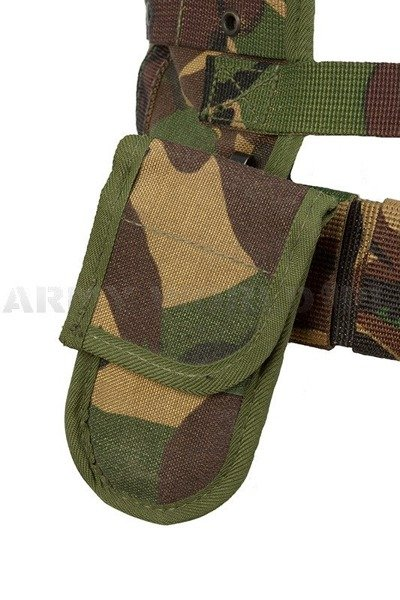 Tactical Vest Of Dutch Army DPM Woodland Original Demobil