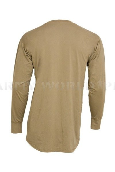 British Army Thermoactive Blouse Lightweight Base Layer Coyote Genuine Military Surplus New