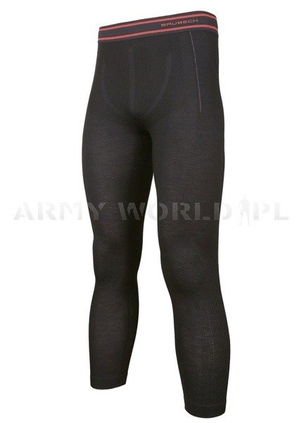 Thermoactive Pants ACTIVE WOOL Men's BRUBECK Black New