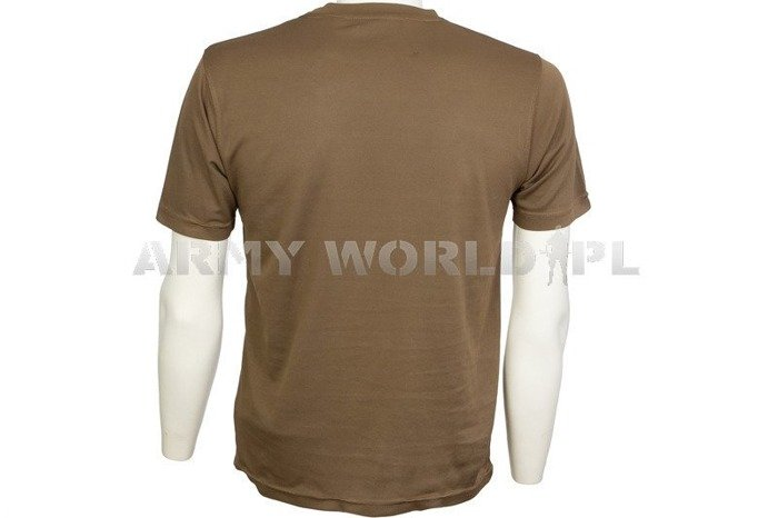 Thermoactive T-shirt Coolmax With Badge Adjutant Generals Corps Brown Used