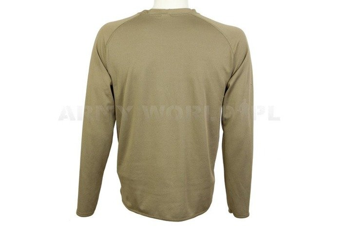 Thermoactive Undershirt Coolmax With Badge Olive Used