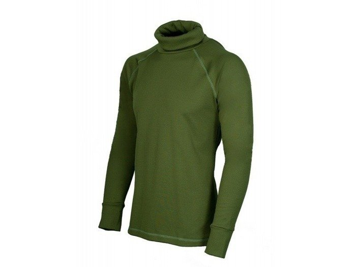 Thermoactive polo neck COORE Oliv Green STOOR New