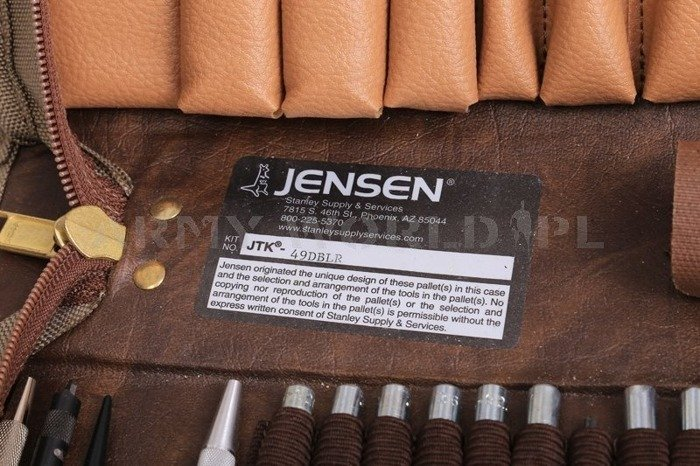 Tools Workstation Kit Jensen Tools JTK-49DBL Khaki Genuine Military Surplus Used