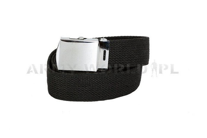 Webbing Belt Model US Black Mil-tec New