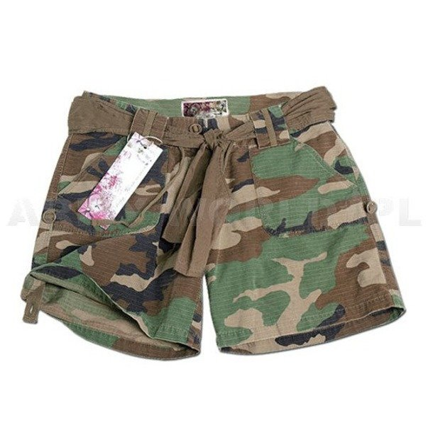 Women's Shorts Mil-tec Woodland New