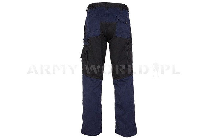 Workwear Pants Engelbert Strauss Image Navy Blue Original Used II Quality