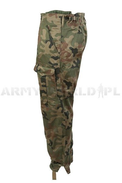 polish Military Pants Wz.93 127A/MON Original - Demobil - SecondHand