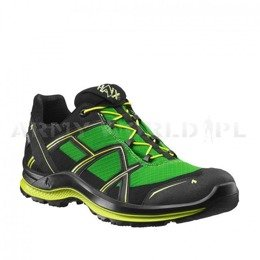 Buty Outdoorowe Męskie Black Eagle Adventure 2.1 Low Haix Art. 330029 Gore-Tex Black-Poison Nowe - II Gatunek