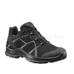 Buty Outdoorowe Męskie Black Eagle Adventure 2.1 Low Haix Gore-Tex Black-Silver Nowe II Gatunek
