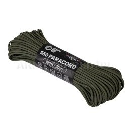Linka 550 Paracord (100ft) Atwood Rope MFG Olive Drab Nowa