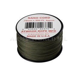 Linka Nano Cord (300ft) Atwood Rope MFG Olive Drab Nowa