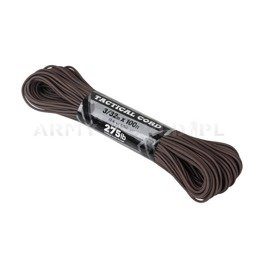 Linka Tactical 275 Cord (100ft) Atwood Rope MFG U.S. Brown Nowa