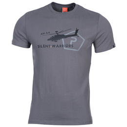 T-shirt Ageron Helicopter Pentagon Wolf Grey Nowy