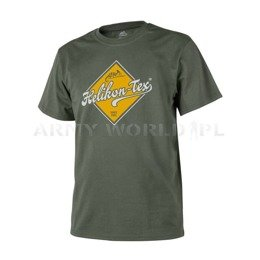 T-shirt Helikon-Tex Road Sign Olive Green