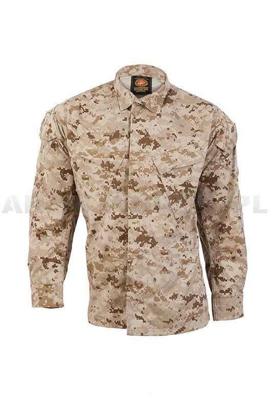 Bluza Wojskowa Amerykańska Usmc Marpat Desert Oryginał Nowa Magazynowy Nowy Odzież Bluzy Mundurowe Wojskowe Sklep Armyworld Pl