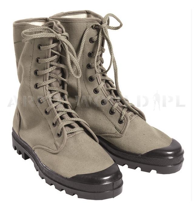 7e94f4a1bdf227 Buty Francuskie CANVAS Mil-tec Nowe | Buty Wojskowe | Sklep ArmyWorld.pl