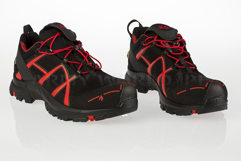 942666656d5589 Buty Robocze Haix BLACK EAGLE Safety 40 Low Gore-Tex Black/Red Art. ...