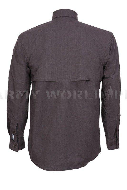 29c1e8db692a51 Koszula Taktyczna Strike Długi Rękaw MFH Anthrazit Nowa anthrazit ...