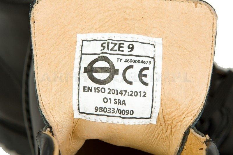 7945377c876939 Buty Służb Ochrony Skórzane Brytyjskie Oryginał Czarne Nowe   OBUWIE ...