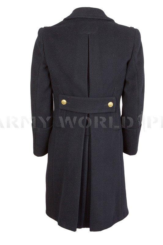 Płaszcz oficerski Marynarki Wojennej