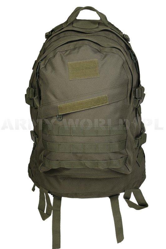 347cae92caa73 Plecak Taktyczny Wojskowy ARMY 35L Dwukomorowy ArmyWorld Oliv Nowy ...