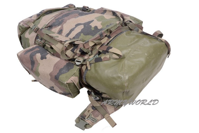 b39394628196d ... Plecak Wojskowy Francuski Legii Cudzoziemskiej CCE 110 L Oryginał  Demobil