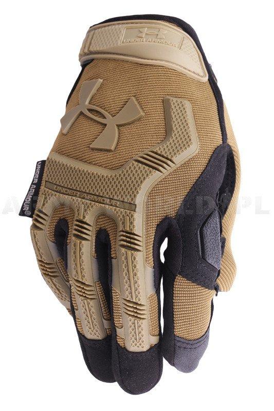 niesamowity wybór za pół ogromny wybór Rękawice Taktyczne Under Armour Coyote / Czarne Nowe ...