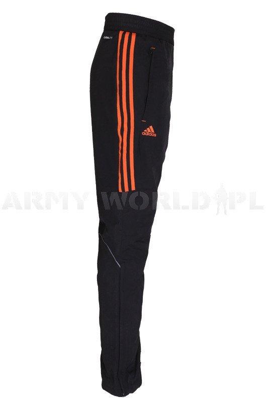 Spodnie Dresowe Treningowe Wojskowe Adidas Czarno