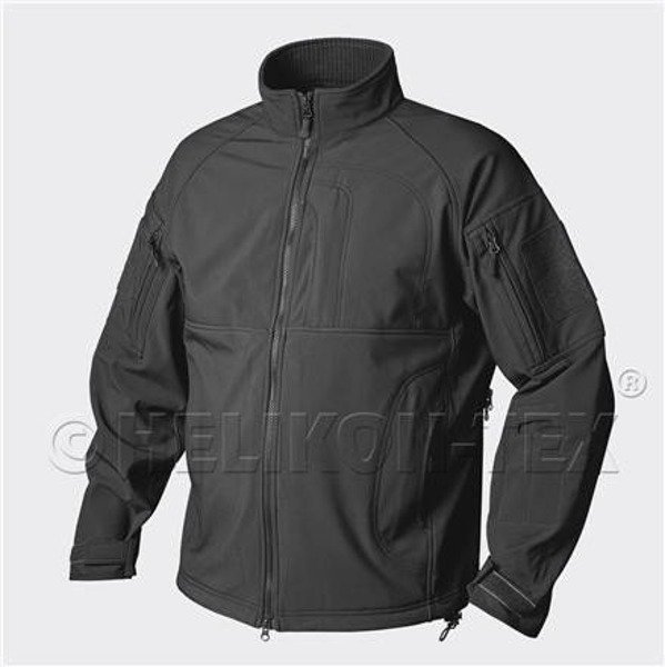 Soft Shell Commander z Polarem Czarny  Helikon